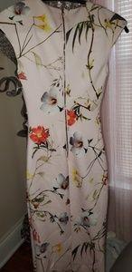 Ted Baker Botanical Bloom Pink Floral Dress